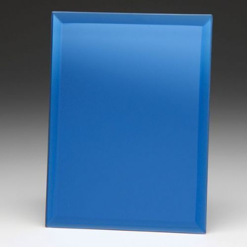 Azzuri Blue Mirrored Plaque 200mm